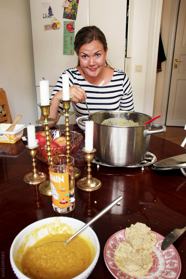 aliciasivert, alicia sivertsson, alicia sivert, den sensationella lisa, linssoppa, soppa, röda linser, kokosmjölk