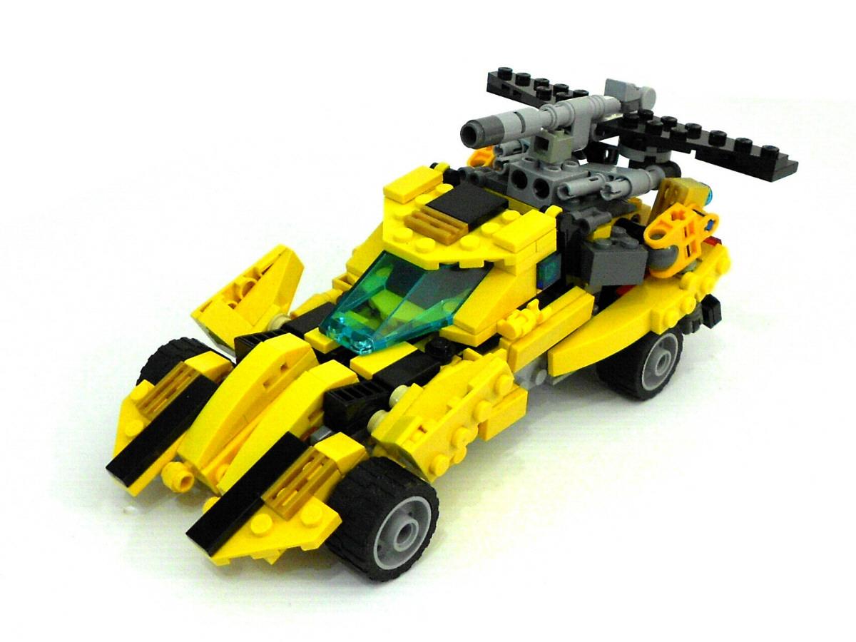 Гоночная машина - автобот » Робот из lego nxt 2.0 70
