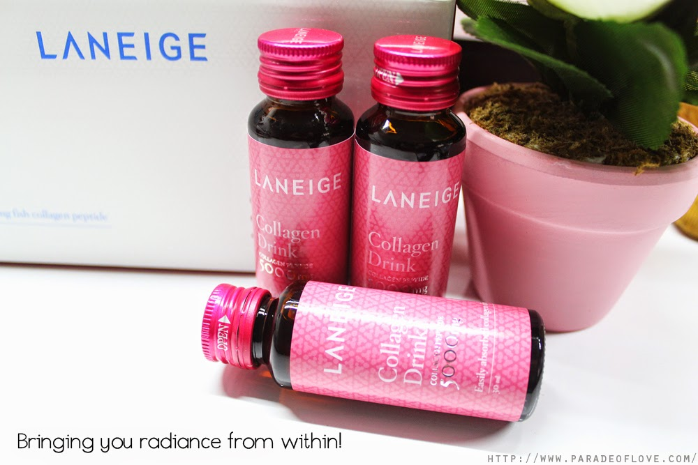 Radiance from within with Laneige's Collagen Drink: Review