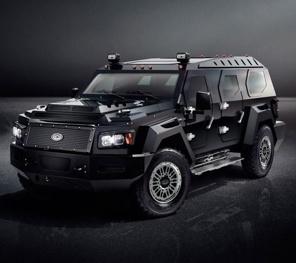 Luxury Suv: Ultra-Luxury Armored Limousine SUV