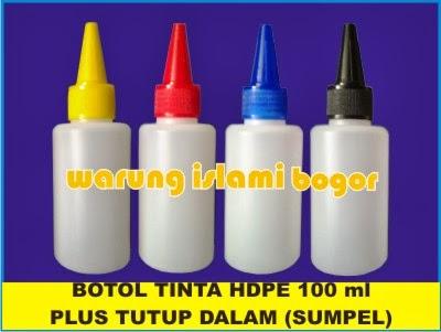 Jual Botol Tinta HDPE
