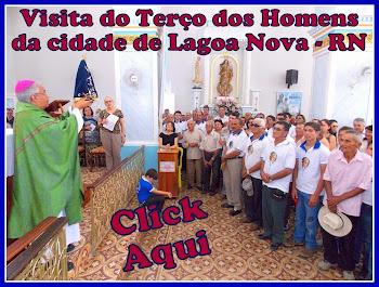 Fotos da Missa no Santuário do Rosário com os Terços dos Homens de Caicó e Lagoa Nova