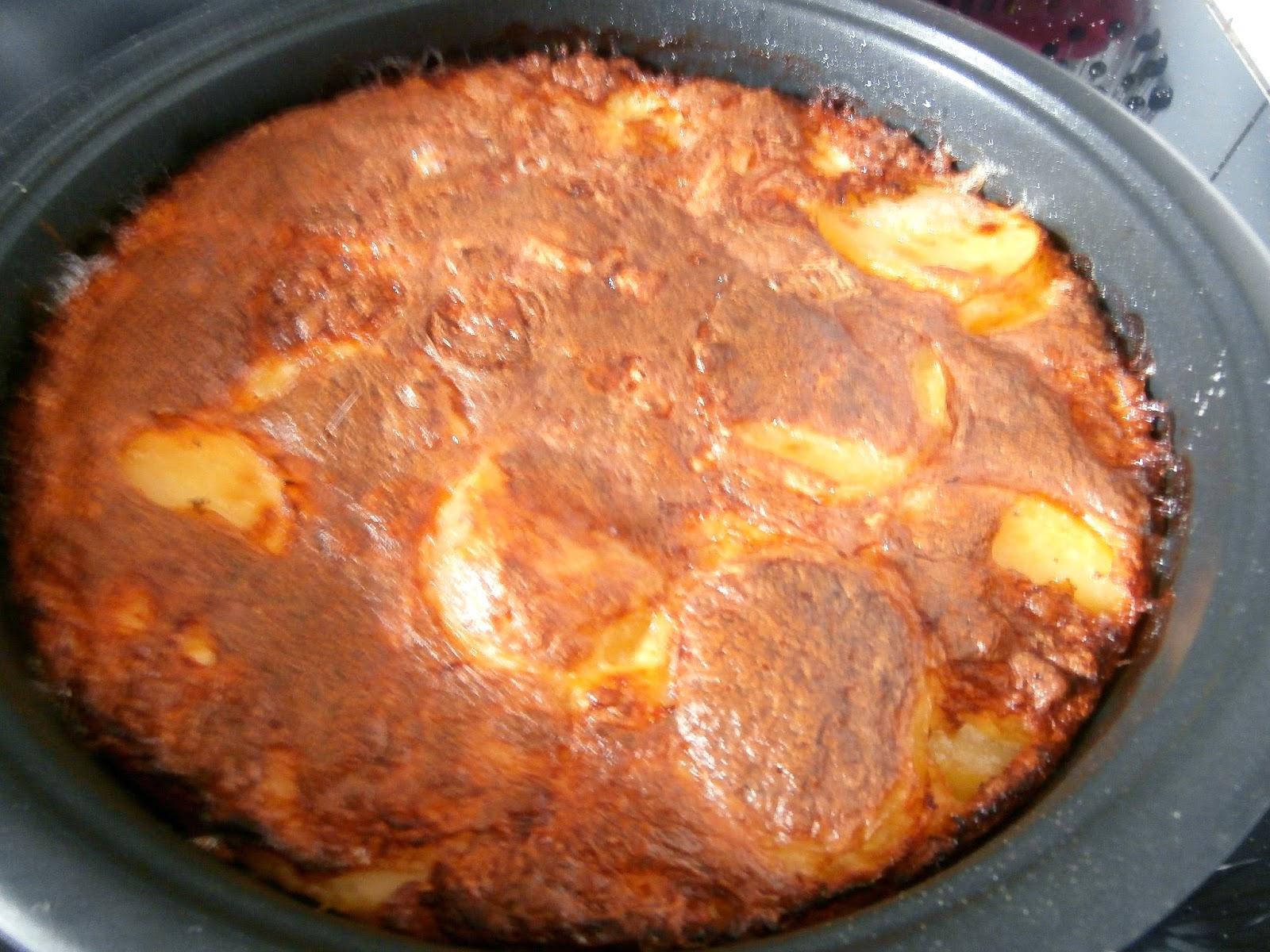 My culinary curriculum tatin de pommes de terre au brie tatin potato brie - Pomme de terre au four papier alu ...