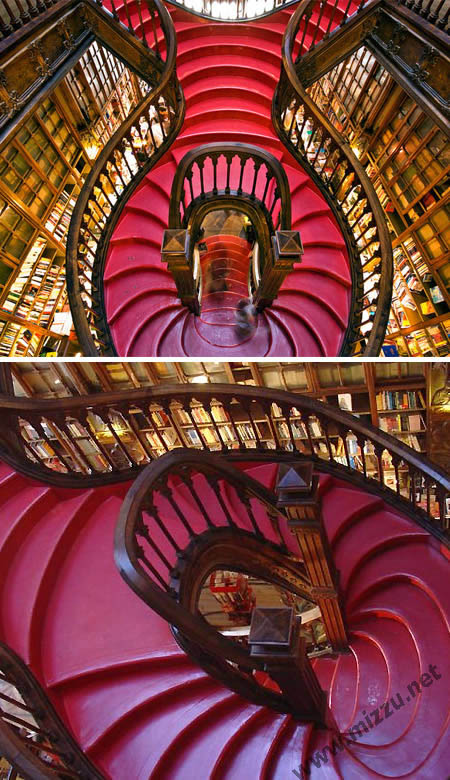 Tangga di Lello Bookshop (Portugal)
