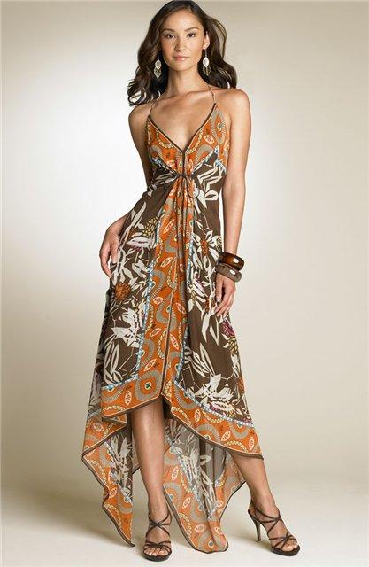 прозрачные платья девушек