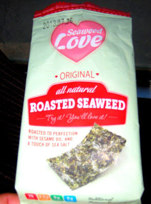onelovejourney2012, one love journey, one love journey, seaweed snacks, diet health, change my thinking, i want to lose weight, natural remedies, thyroid foods