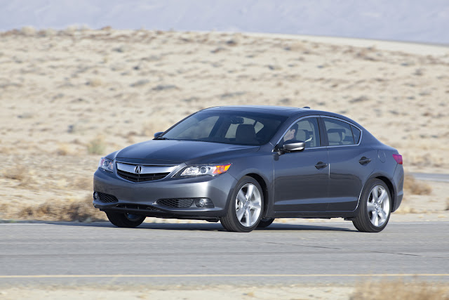 2013 Acura ILX driving