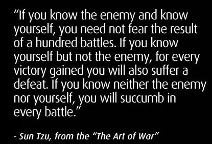 Sun+Tzu+Quotes-Art-of-war - Do you really know who you are? - Anonymous Diary Blog
