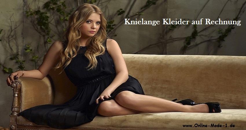 knielanges kleid g nstige knielange kleider auf rechnung kaufen. Black Bedroom Furniture Sets. Home Design Ideas