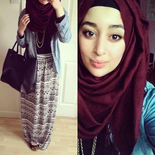 Hijab Remaja Trendy Terbaik 2016 Dunia Hijab Fashion