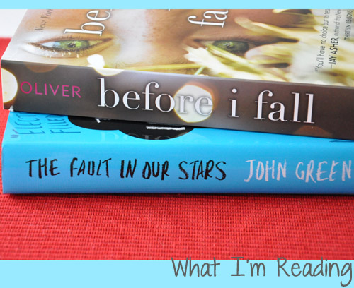 what im reading wednesday before i fall and the fault in our stars