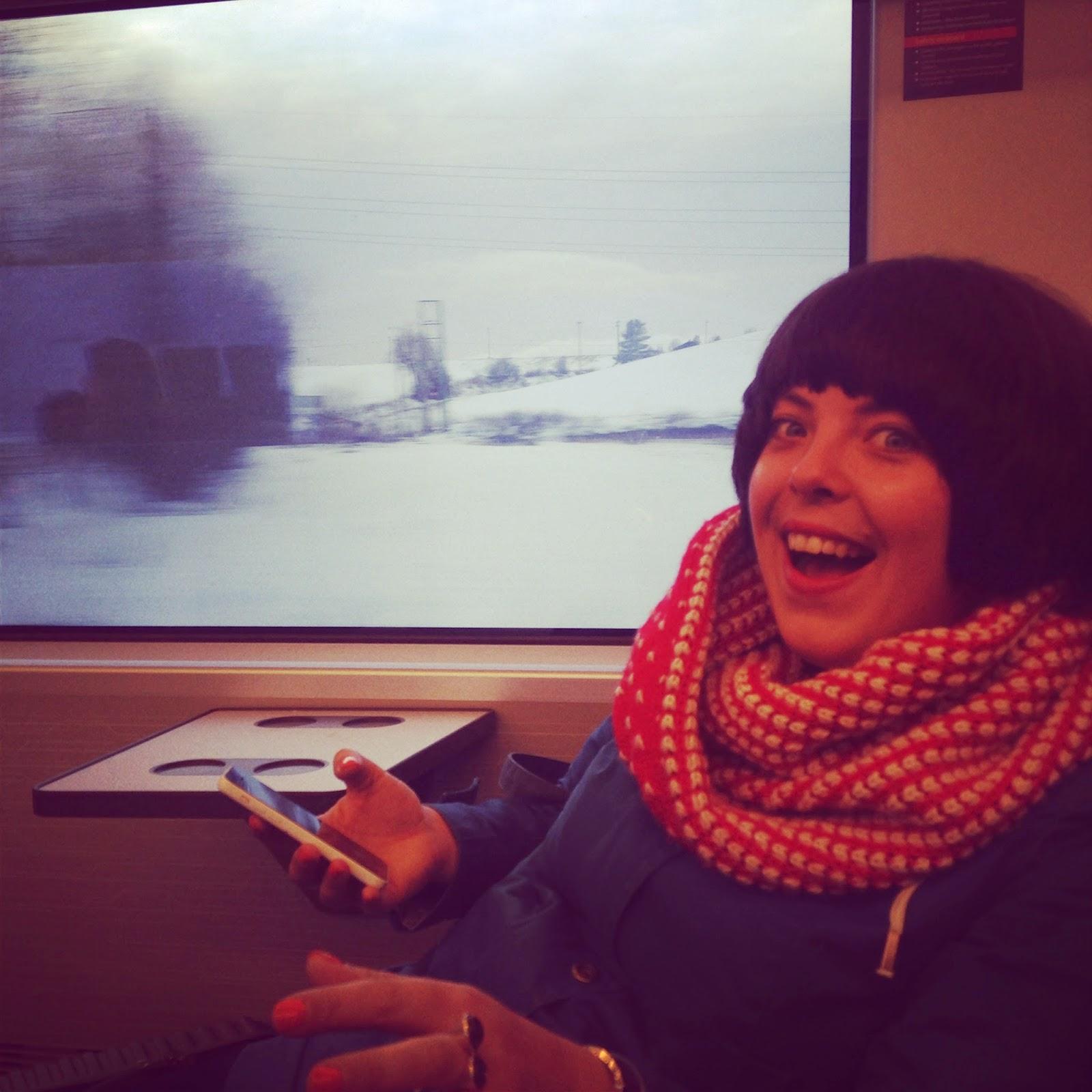 train to Oslo Sentral