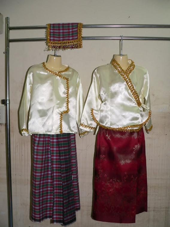 ชุดอาเซี่ยนประจำชาติพม่า มีไซน์SSSจนถึงไซน์XXL