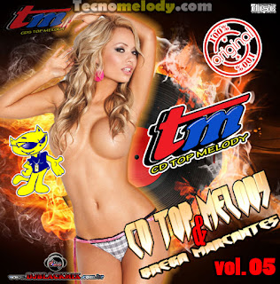 Cd Top Melody & Brega Marcantes 2013 vol.05 - By Dj Blackmix