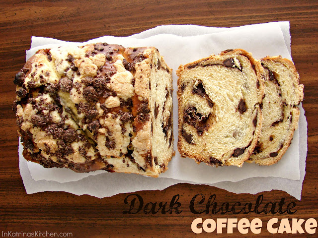 Dark Chocolate Coffee Cake Recipe