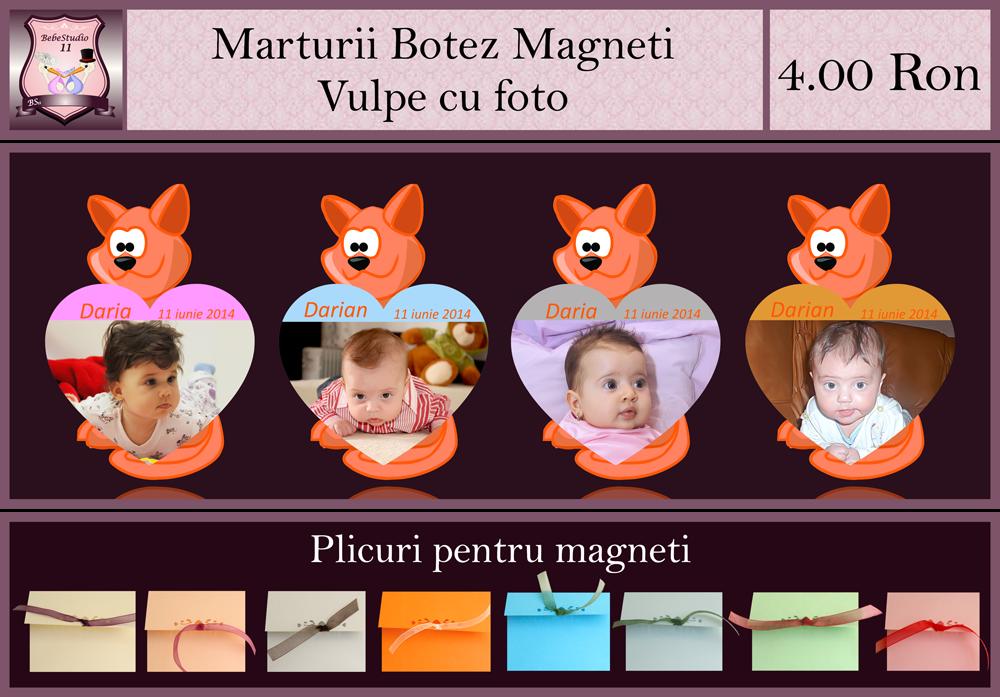 marturii botez magneti vulpe