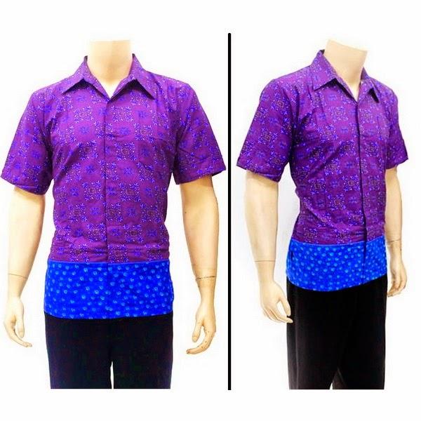 Baju Hem Batik  Pria BP4261