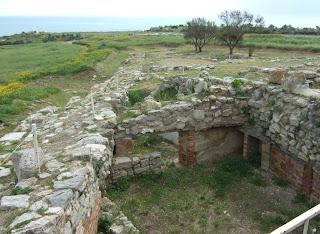 Bild 8: Teil der Stadtmauer von Herakleia Minoa