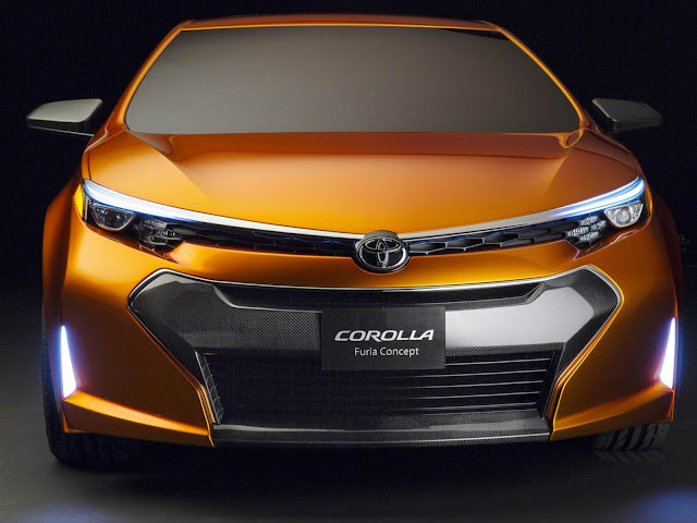 Novo Toyota Corolla 2015 - Furia Concept