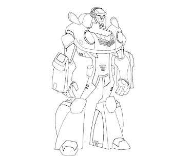 #10 Transformers Coloring Page