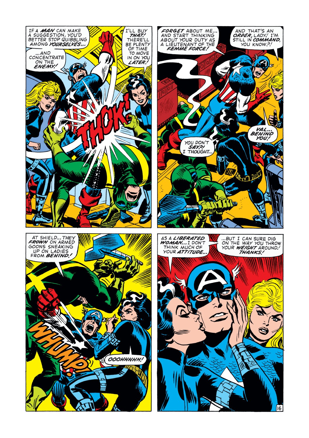 Captain America (1968) Issue #145 #59 - English 17
