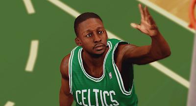 NBA 2K14 Jeff Green Cyberface Patch