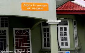 Alpha Homestay, Taman Cempaka Melaka.