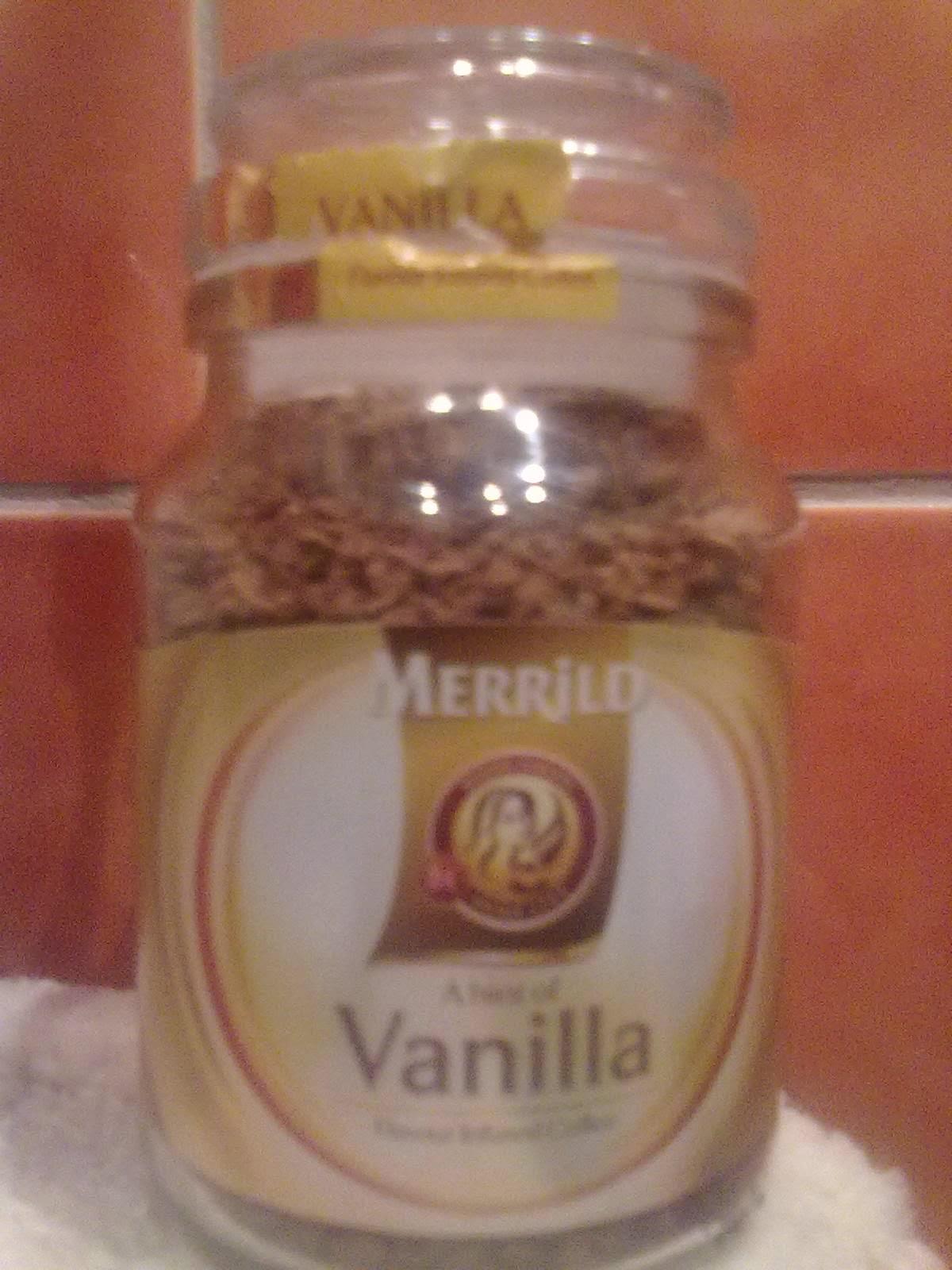 kafija merrild ar vaniļas garšu