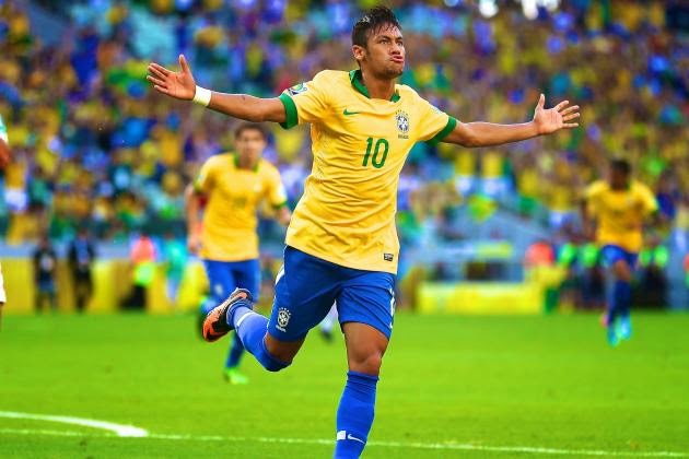 Neymar (Brazil) best players to Watch at FIFA World Cup 2014