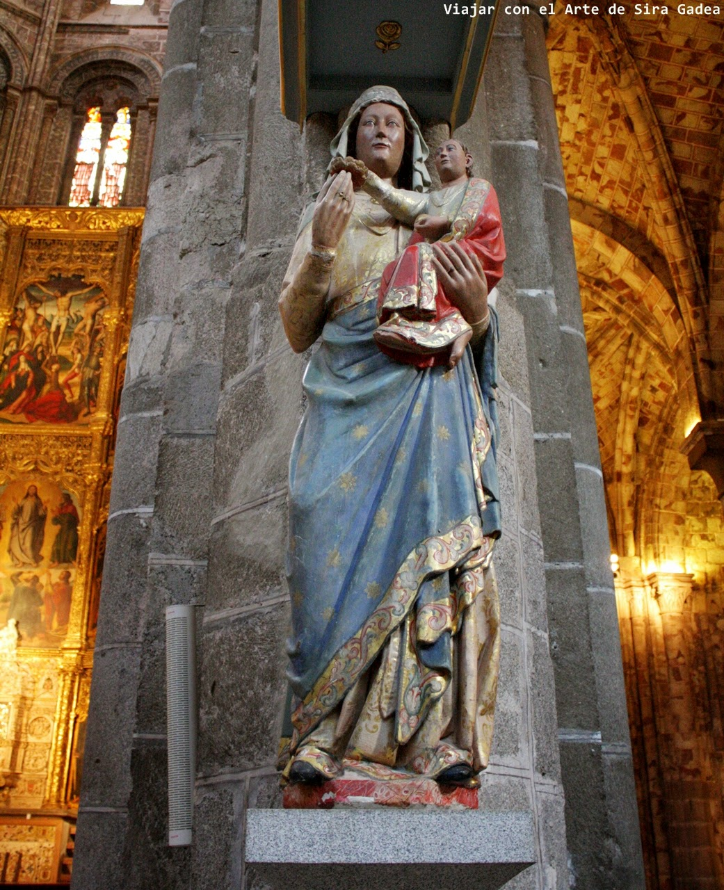 Virgen con Niño catedral Ávila