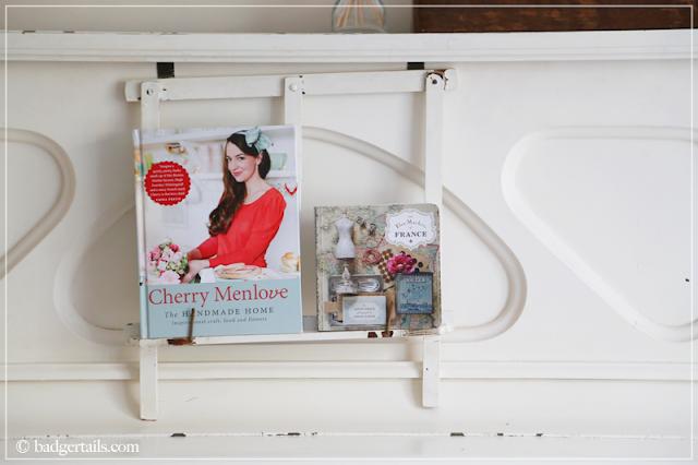 Cherry Menlove & Flea Markets of France Books on White Piano