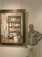 Alberto Gallo en la exposición 'La Vijanera' - Fotografía de Juan Nadie