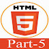 HTML elements And Bringing in the style for Html5 Flash developer || Part-5