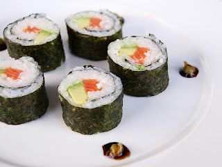 Japan's Rolled Sushi