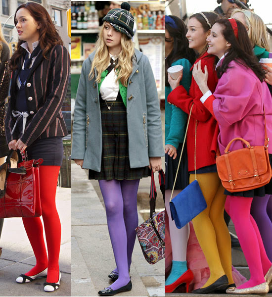 Langley Fashion: Would You Wear...Colored Tights?