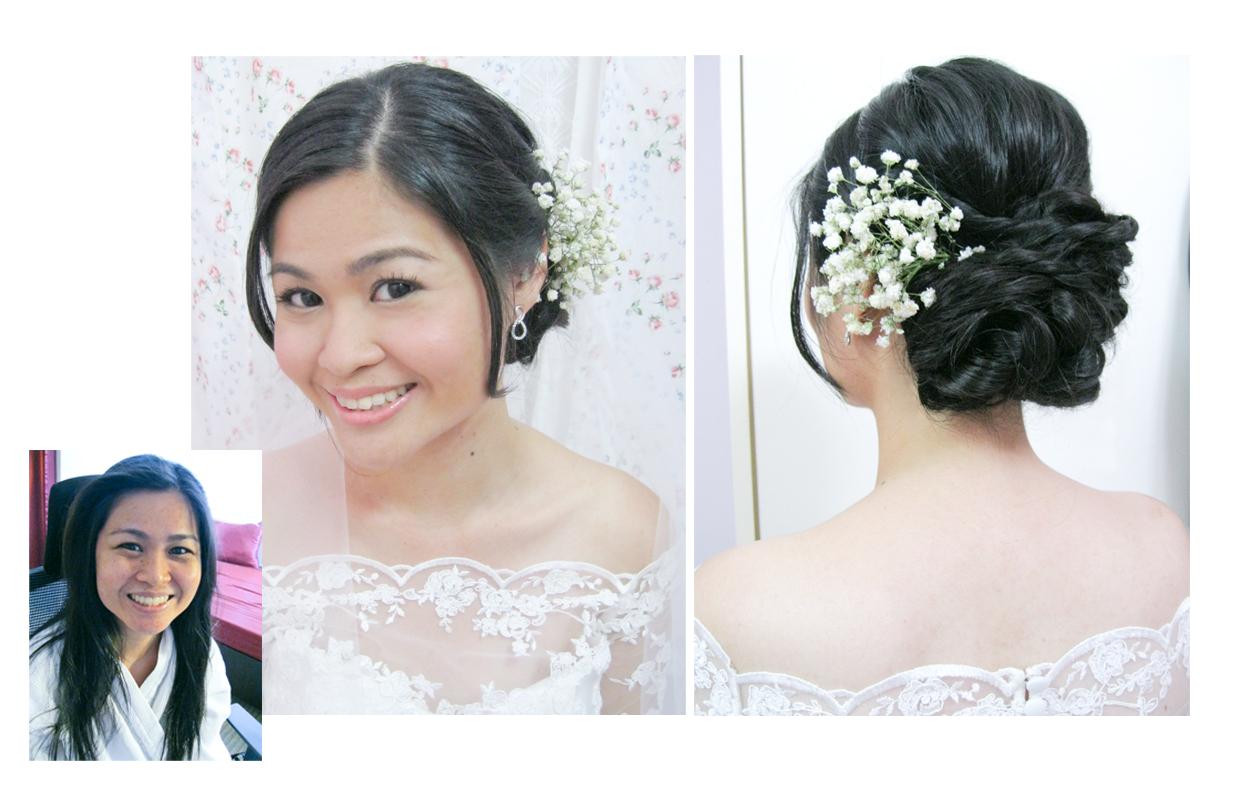 Aivy Yong air brush bridal make up - professional makeup artist ...