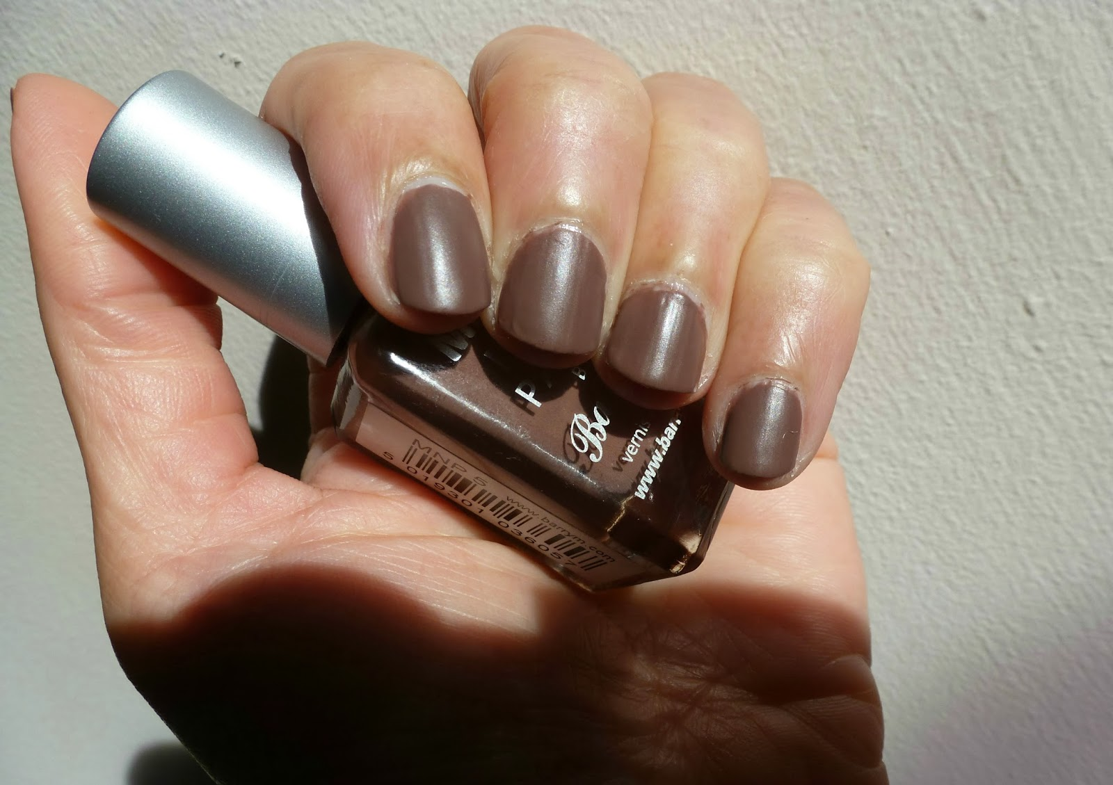 A picture of Barry M Matte Nail Paint in Mocha