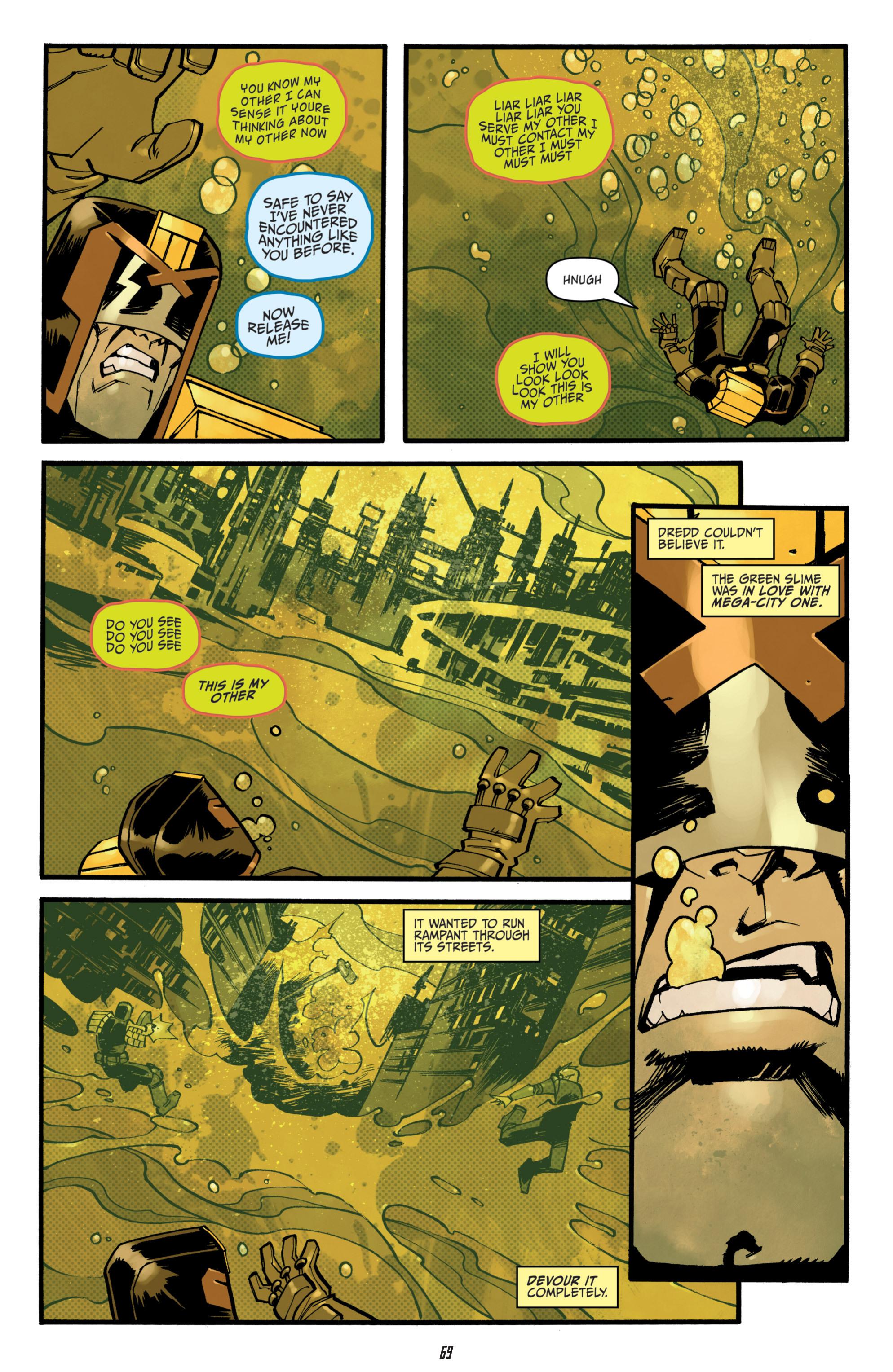 Read online Judge Dredd (2012) comic -  Issue # _TPB 3 - 69