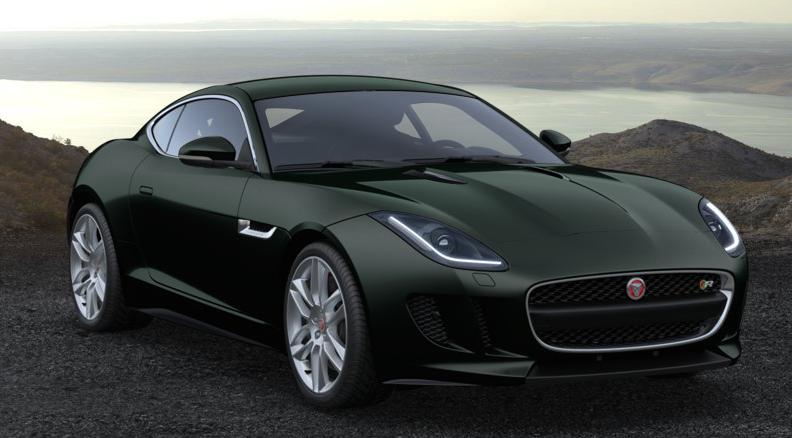 jaguar f type green - photo #48