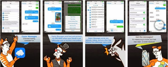 Espier Messages PRO Apk Terbaru