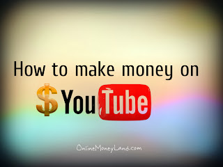 YouTube to earn money online