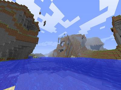 Minecraft: Water valley