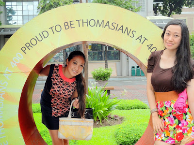 Trisha Sebastian and April Denise Belcher Homecoming in UST| Proud to Be Thomasians at 400.