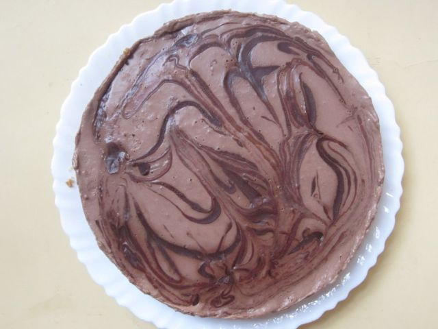 ... single chocolate cheesecake but a whooper double chocolate cheesecake