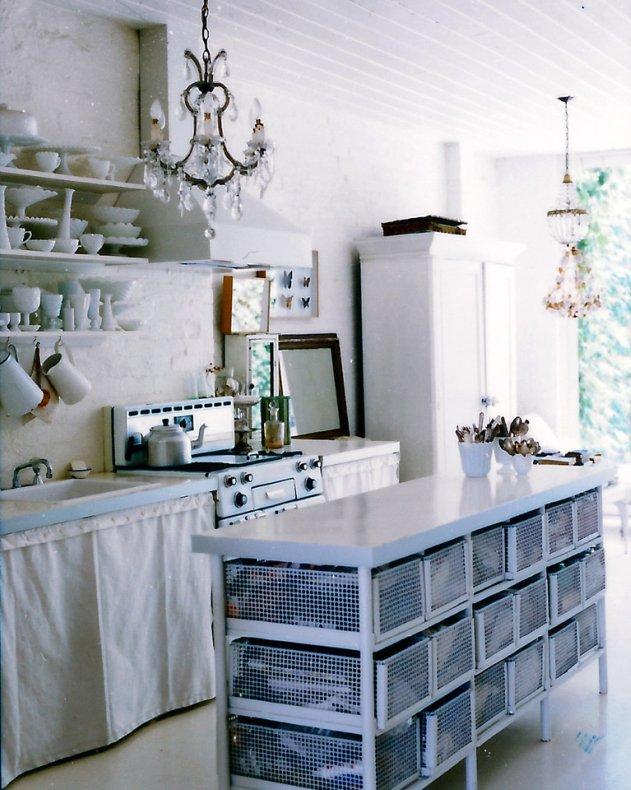 Una casa modesta pero con estilo modest house but with for Cocinas vintage chic