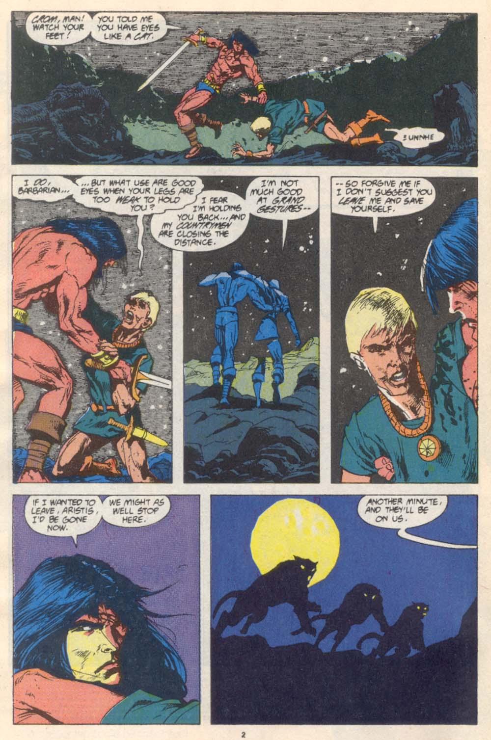 Conan the Barbarian (1970) Issue #227 #239 - English 3