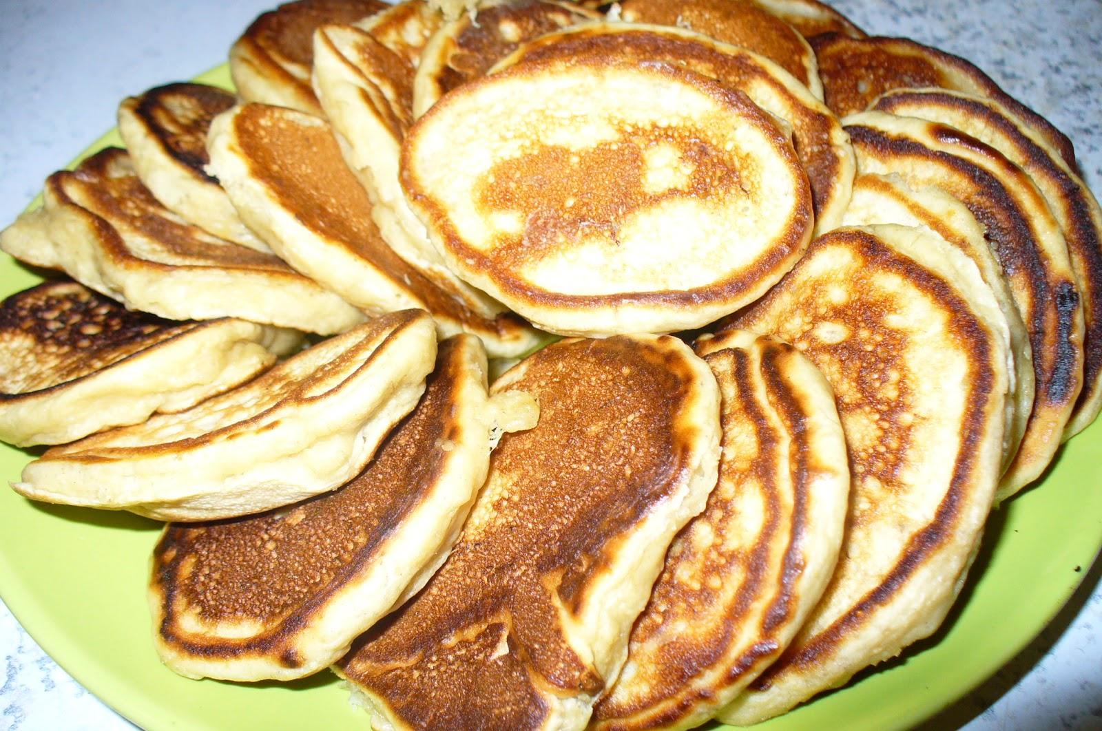 оладьи готовые банановые
