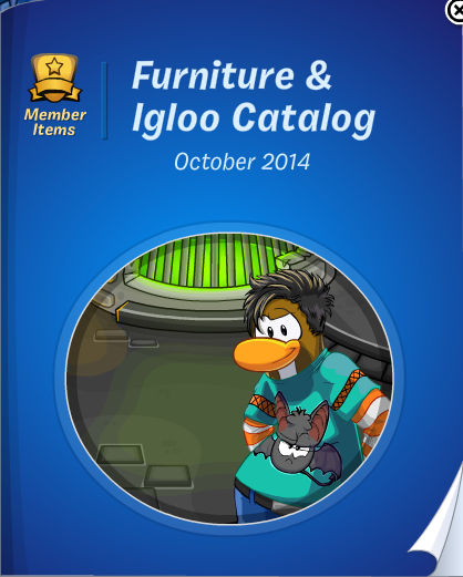Club Penguin Furniture & Igloo Catalog October Cheats