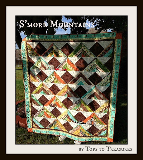 More mountains jelly roll quilt 171 moda bake shop