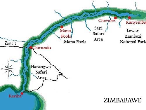zambezi river africa map image search results